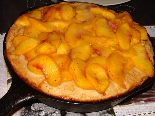 Giant Peach Pancake